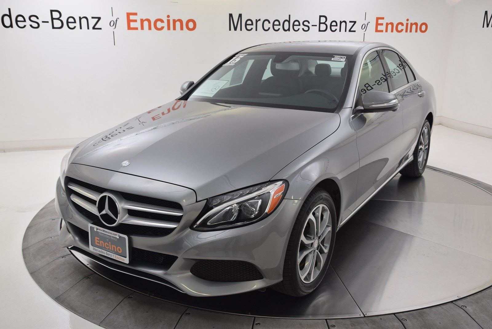 certified pre owned 2015 mercedes benz c class 4dr car in