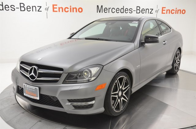 Certified pre owned 2013 mercedes benz c class c250 2 door for Mercedes benz c250 performance upgrades
